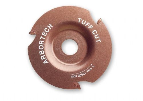 "Arbortech TUFF Cut Universal Cutting Blade Wood 4 1/2"" 5"" 115mm 125mm Angle Grinders Pipe"